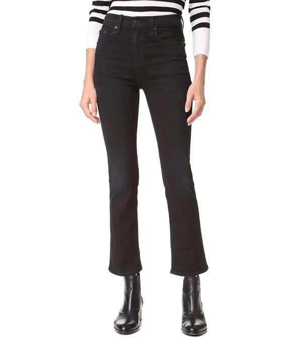 The Hana High-Rise Cropped Jeans