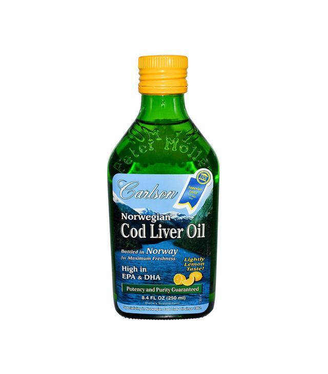 Wild Norwegian Cod Liver Oil Lemon Flavor by Carlson