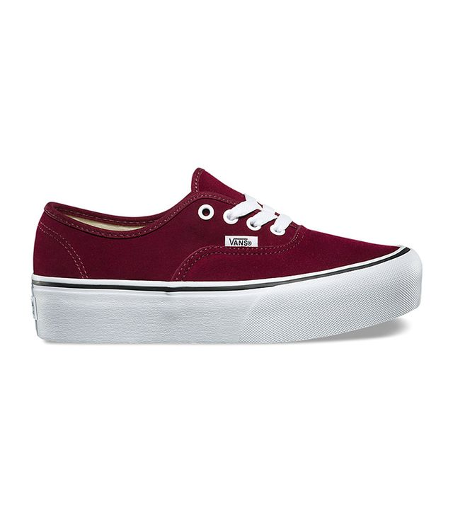 Vans Suede Authentic Platform 2.0