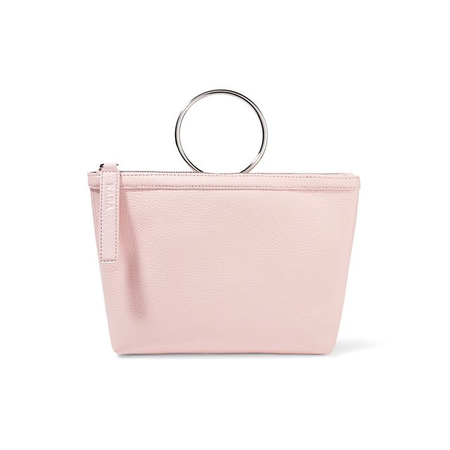 KARA Ring Textured Leather Bag