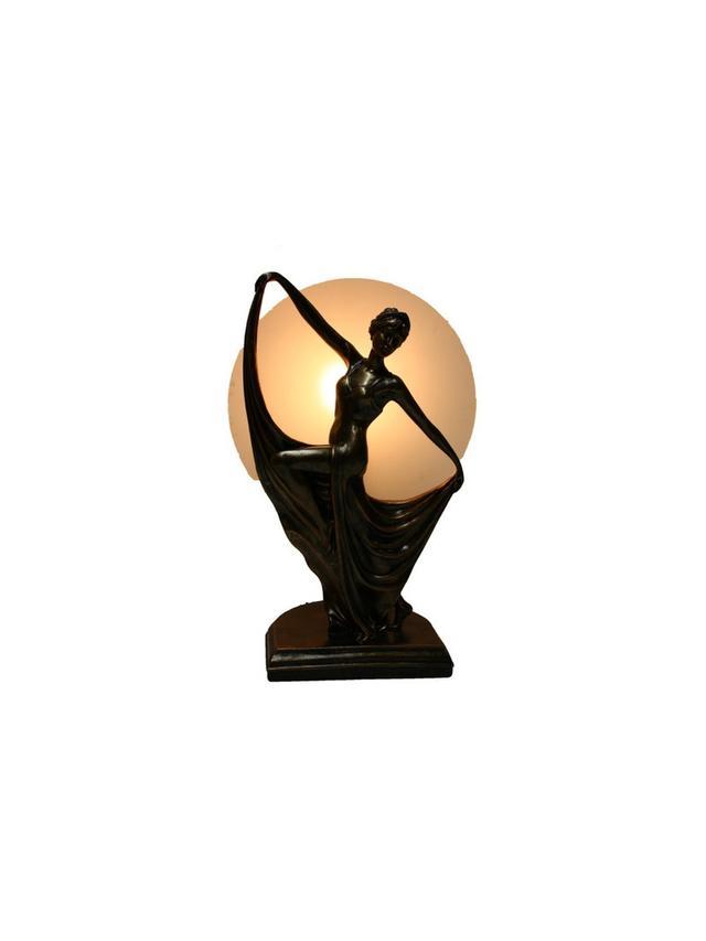 Tiffany Emporium Ancient Dancing Lady Lamp