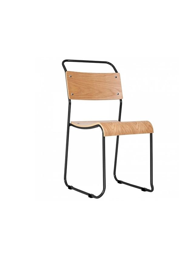 Industrial Furniture Bauhaus Stackable Sled Chair