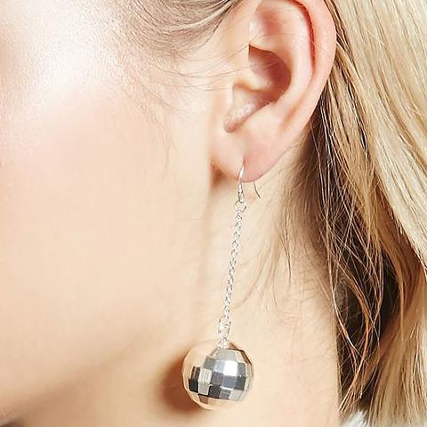 Disco Bauble Drop Earrings