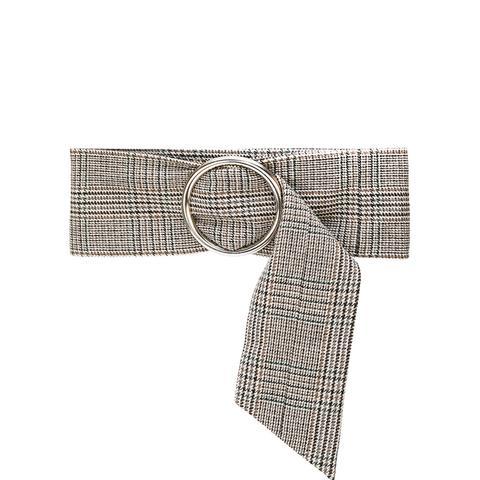 Wide Tweed Belt