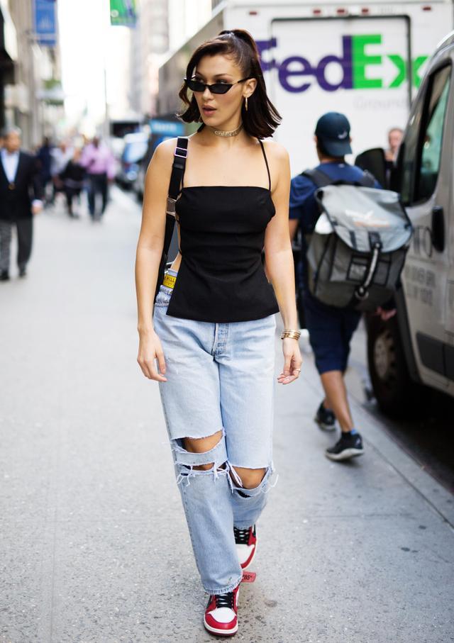 Bella Hadid Street Style