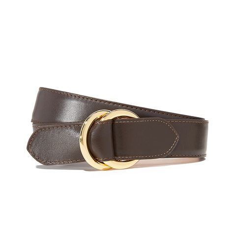 Leather O Ring Belt