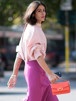 How to Wear Head-to-Toe Pink If You Want to Be More Stylish