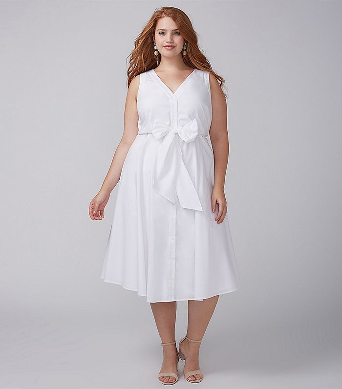 The Best White Plus-Size Dresses to Buy Now | Who What Wear