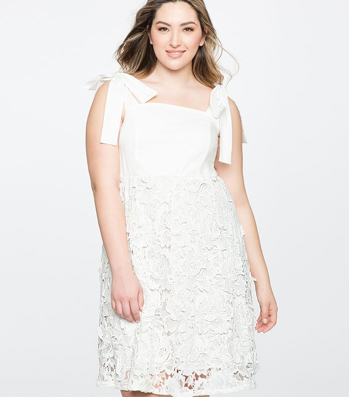 The Best White Plus-Size Dresses to Buy Now   Who What Wear