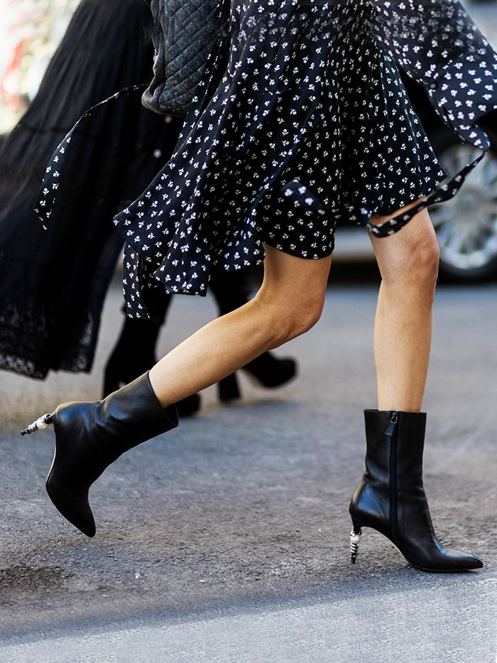 Shop The Best Mid Calf Boots For Fall Who What Wear