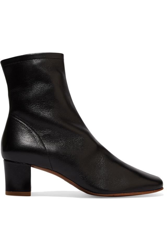 Sofia Leather Sock Boots
