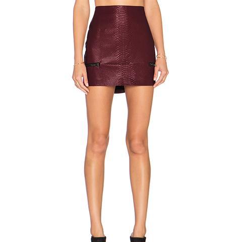 Good to Be Bad Mini Skirt
