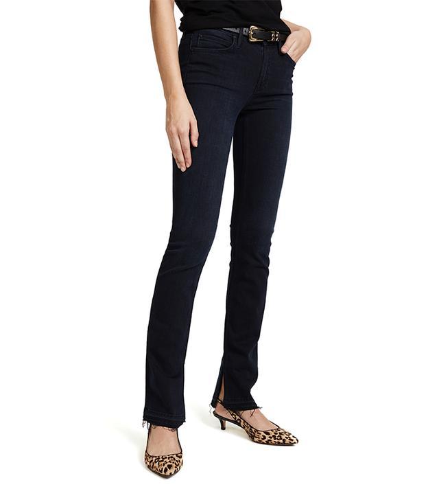 Rascal Slit Undone Hem Jeans