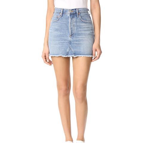 Quinn High Rise Miniskirt