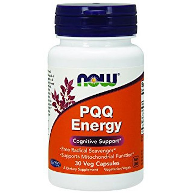 PQQ Energy and Cognitive Support by Now Foods