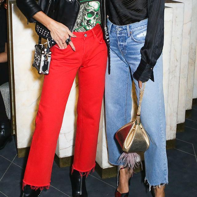 The Denim Trends Everyone Is Wearing in Paris