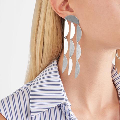 Mini Rain Sterling Silver Earrings