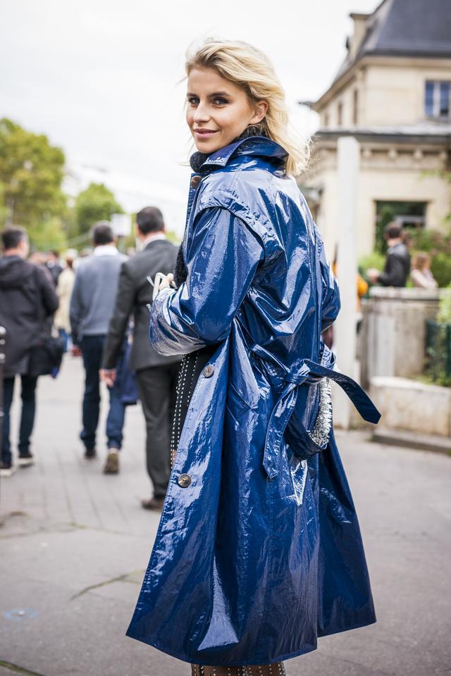 Caroline Daur in Cobalt Blue