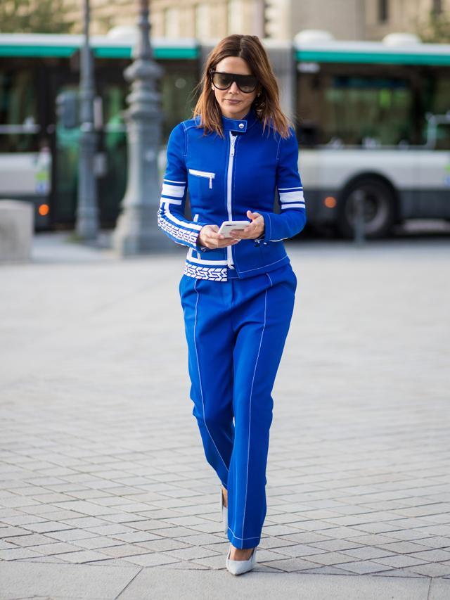 Christine Centenera in Cobalt Blue