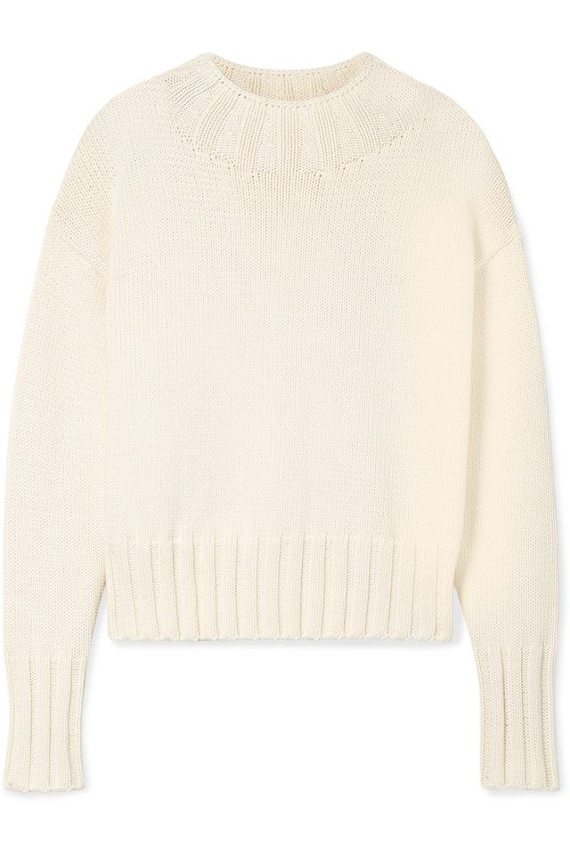 Gracie Oversized Cotton-blend Sweater