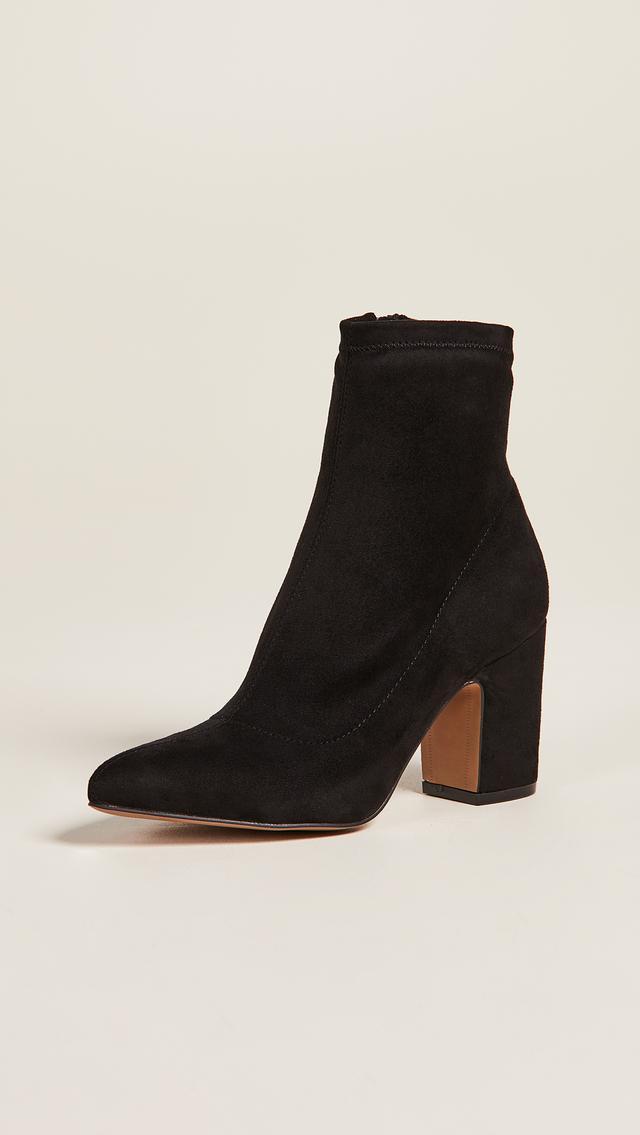 Leandra Block Heel Ankle Booties