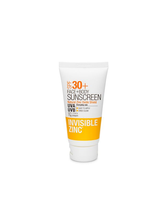 Invisible Zinc Face and Body Sunscreen