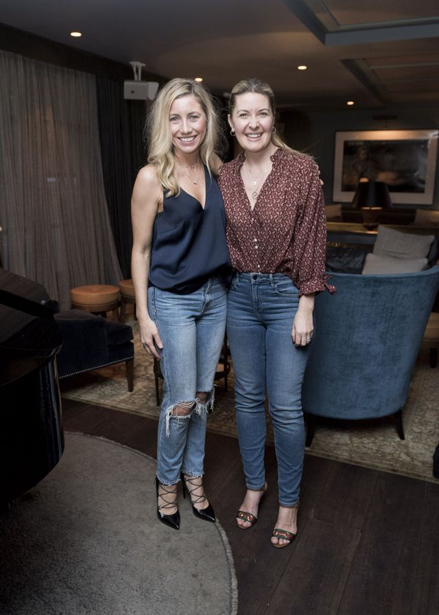 How to Style Jeans at an Event—Kirsten King and Lucie Ferguson