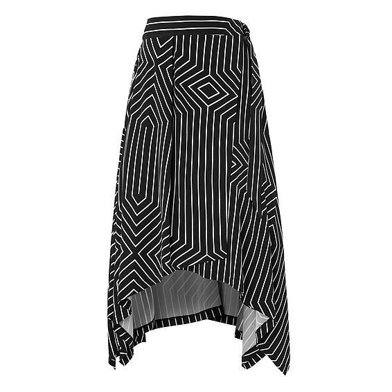 L.K.Bennett x Preen Shelly Print Skirt
