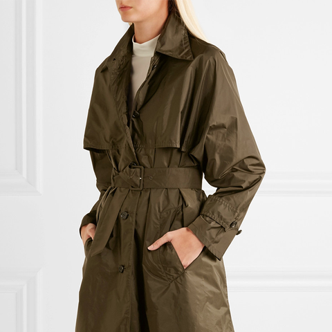 Shell Trench Coat