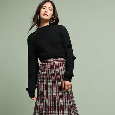 Zephyr Plaid Skirt