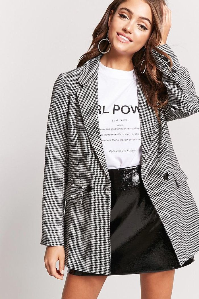 This $28 Forever 21 Blazer Looks So Expensive