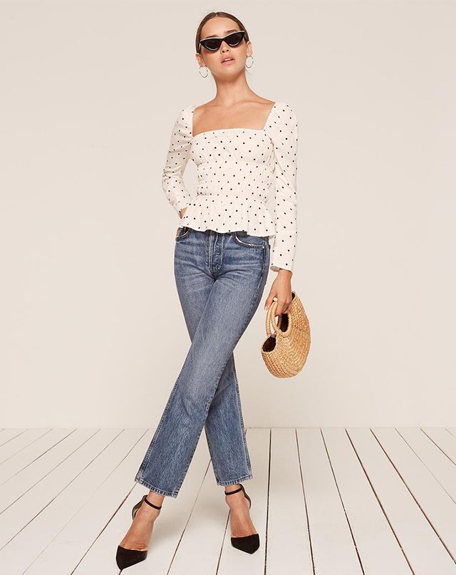 The Reformation Laurent Top in Spot