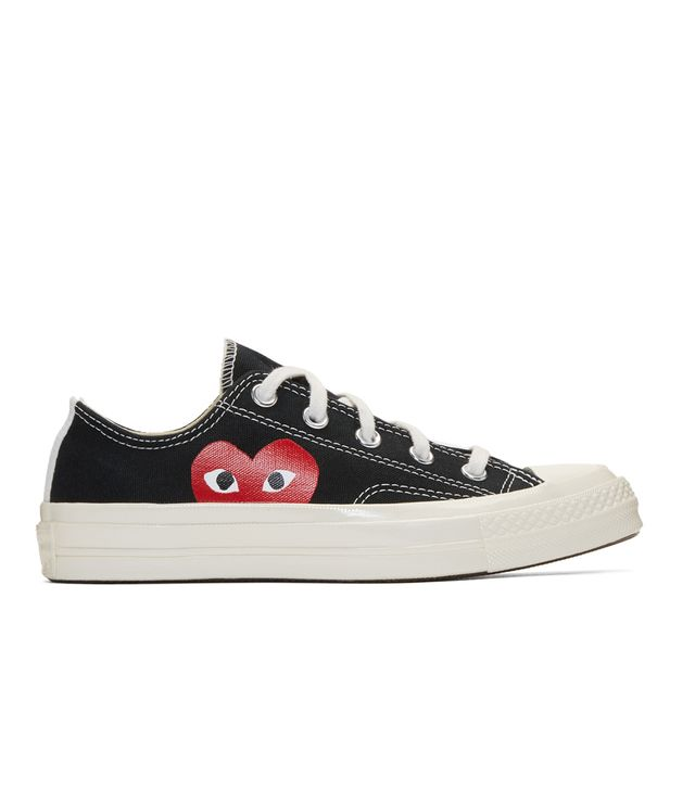 Comme des Garçons Play Black Converse Edition Chuck Taylor All-Star '70 Sneakers