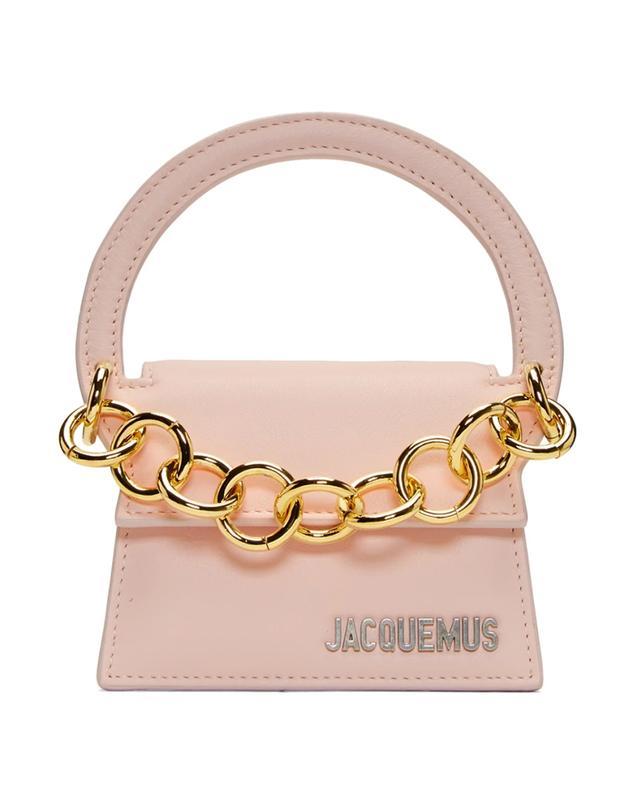 Jacquemus Pink Le Petit Rond Clutch