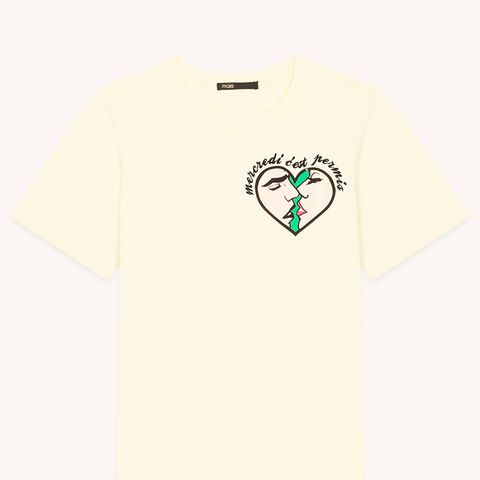 Wednesday Embroidered T-Shirt