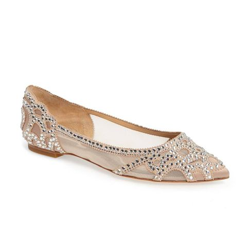 Gigi Crystal Pointy Toe Flats
