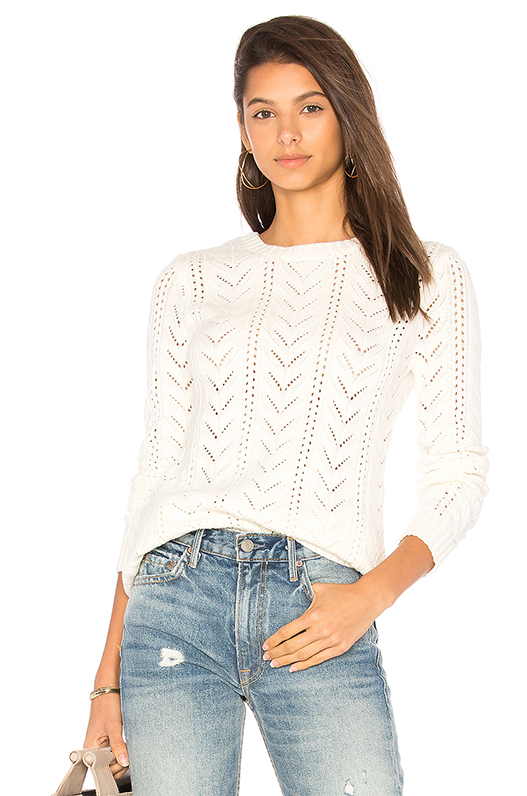 x REVOLVE Fulton Sweater in Ivory. - size XS (also in L,M,S)