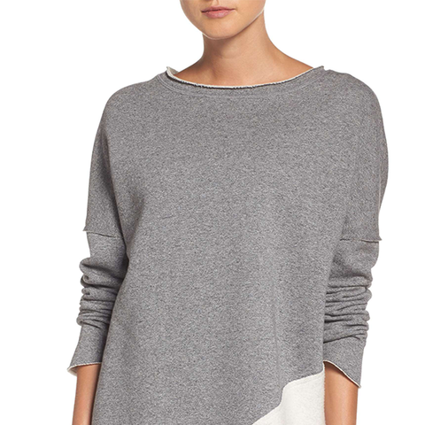 Exhale Asymmetrical Sweater