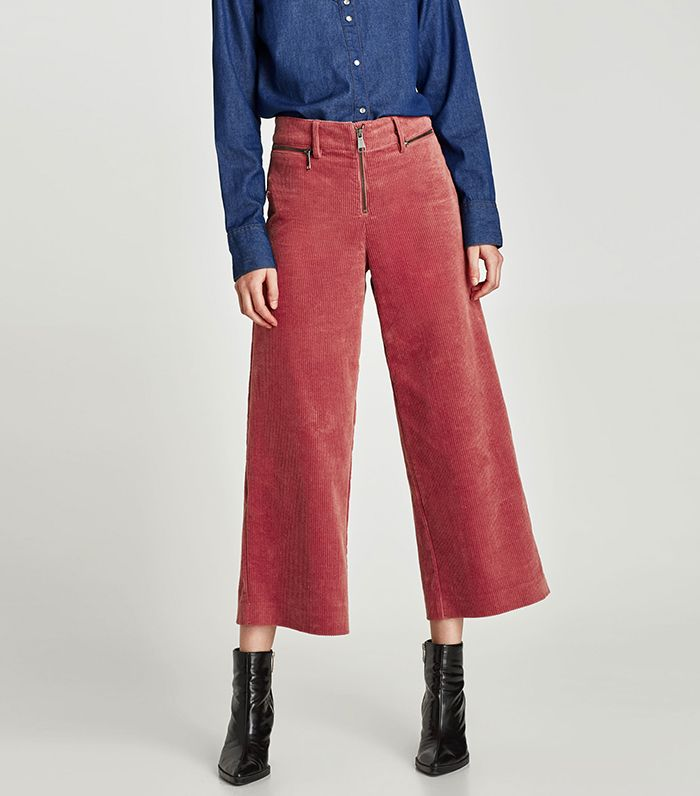 9908e35dd69ae8 French Girls Are Bringing Back Corduroy Pants | Who What Wear