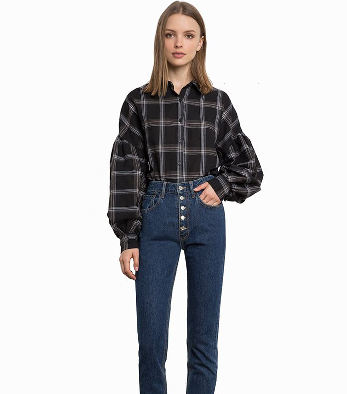 fe7bef37d How to Wear Plaid Like a Fashion Girl   Who What Wear