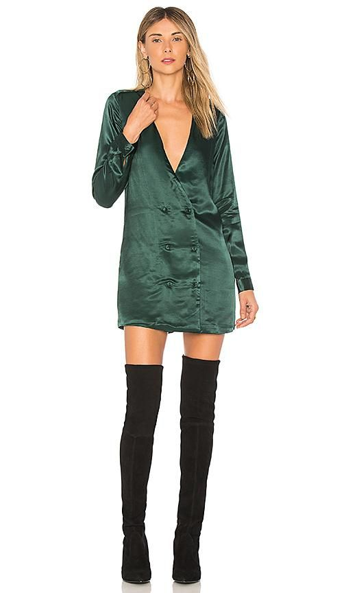The Cadet Dress in Green. - size S (also in L,M,XS, XXS)