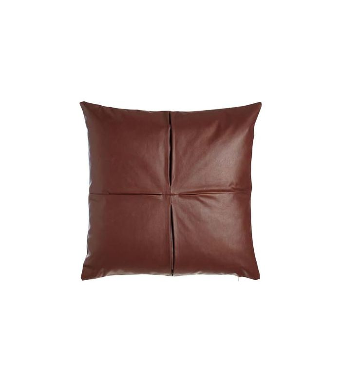 11 Leather Pillows That Make Your Sofa Look Luxe Instantly
