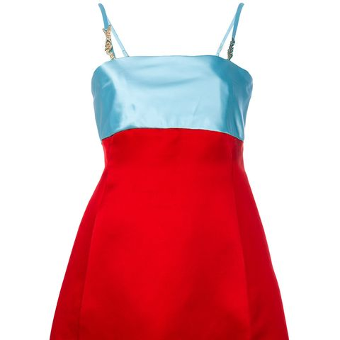 Colour Block Cocktail Dress