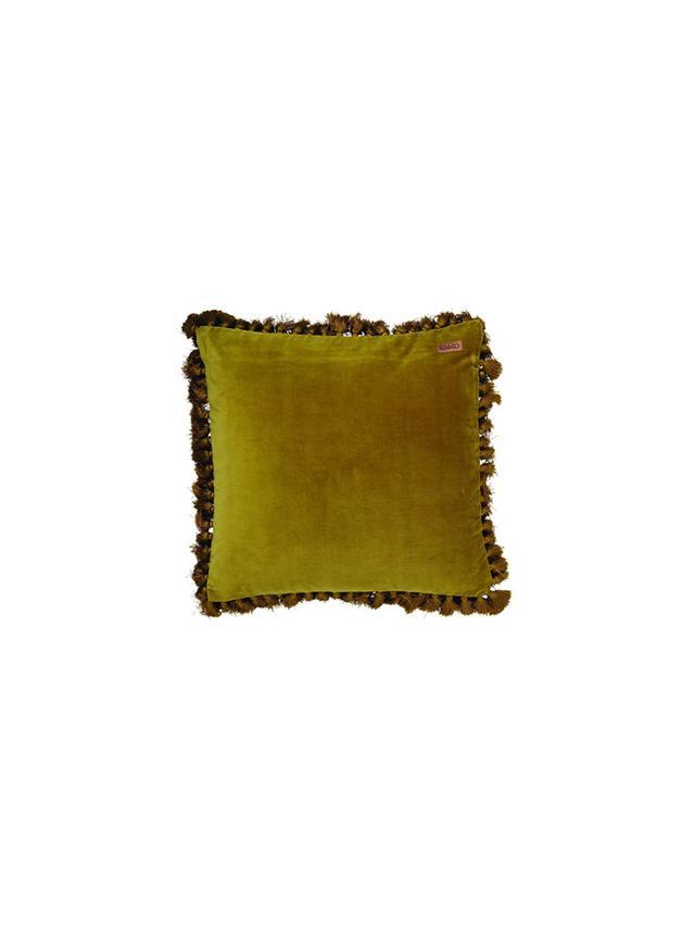 Kip & Co. Velvet Tassle Cushion