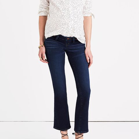 Maternity Cali Demi-Boot Jeans in Hayes Wash