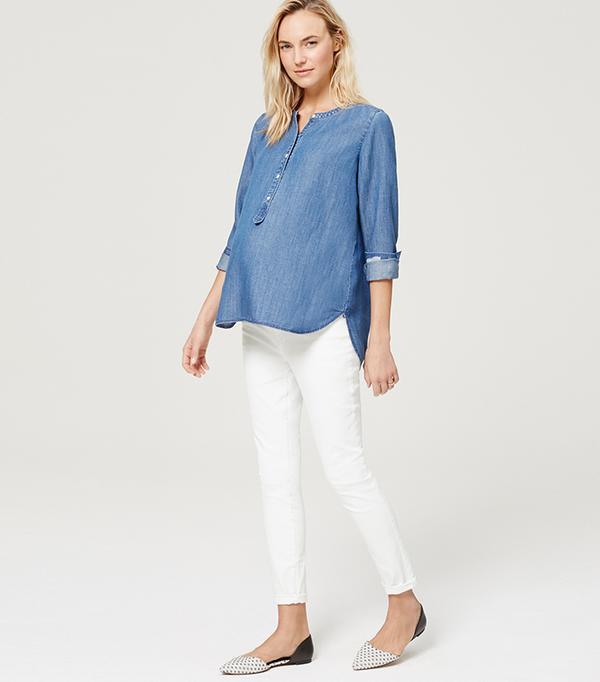 petite maternity jeans