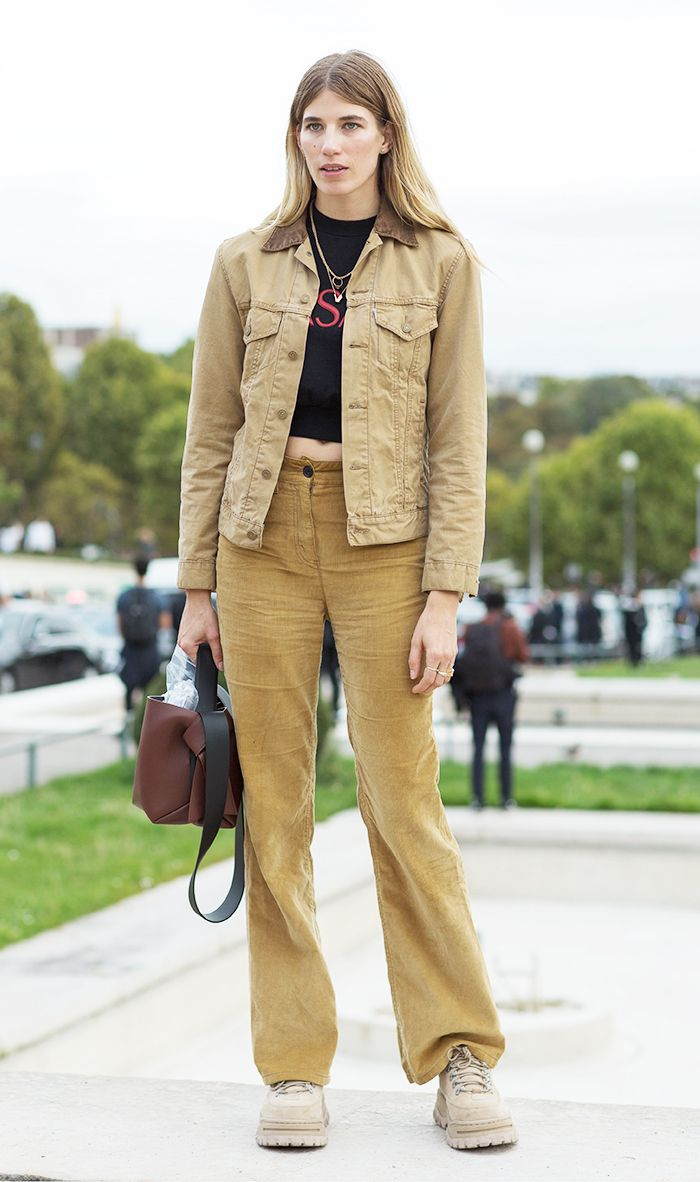c8787491 How to Style These Trendy Retro Pants | Who What Wear