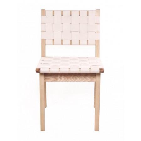 Replica Jens Risom White Side Chair