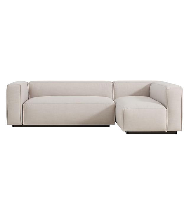 Blu Dot Cleon Small Modern Sectional Sofa