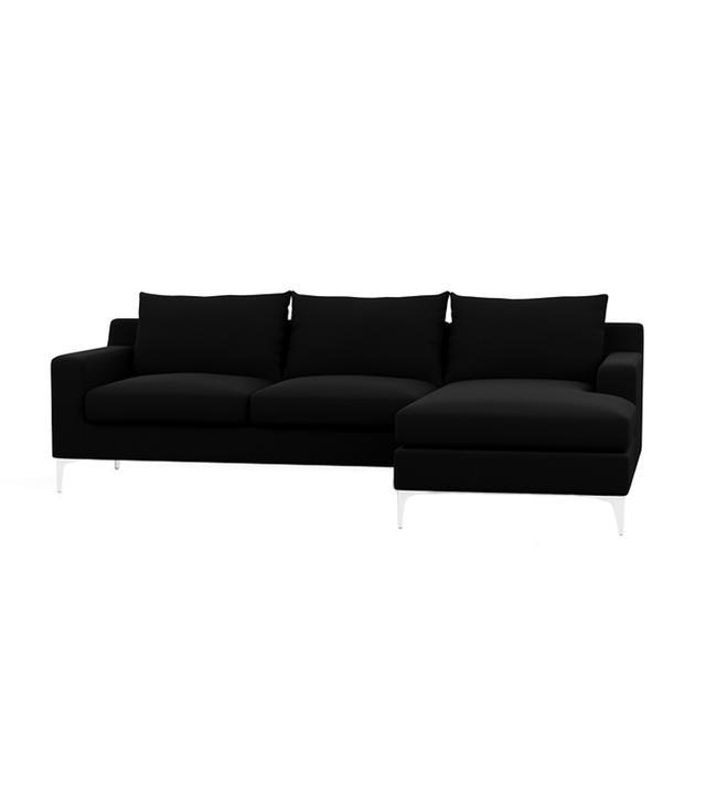 Interior Define Sloan Sofa With Right Chaise
